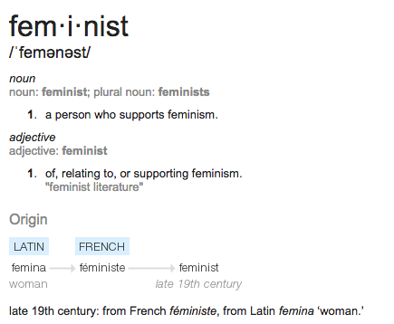 feminist-definition