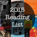 2015 Reading List + First Giveaway Ever!