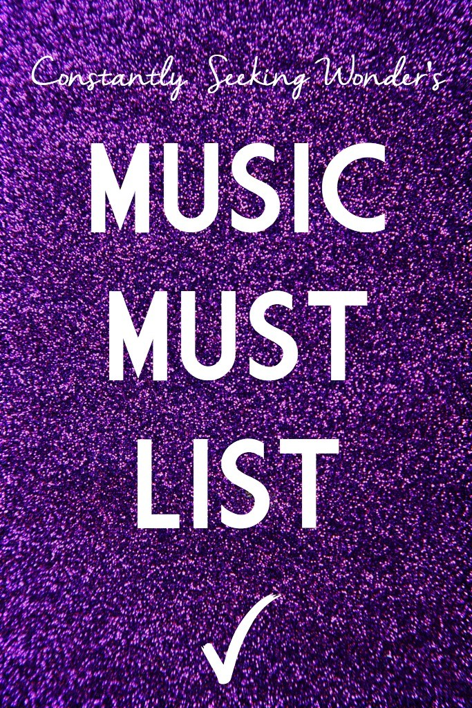 Music Must List