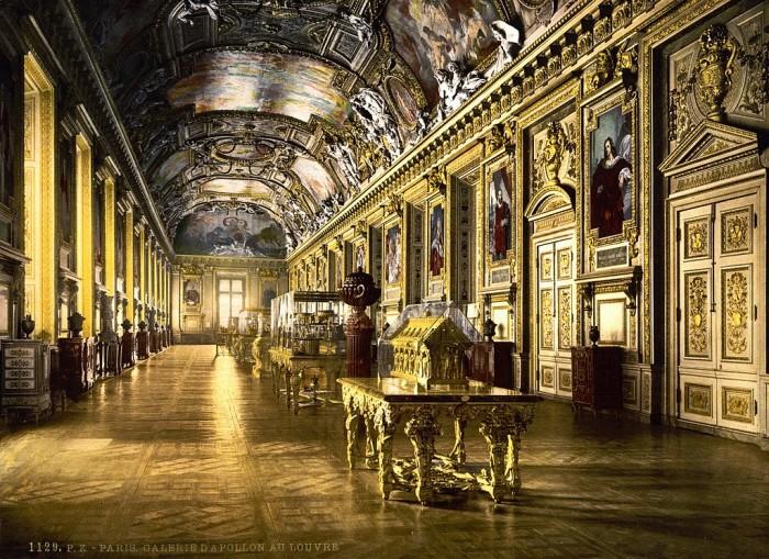 The Louvre Delacroix