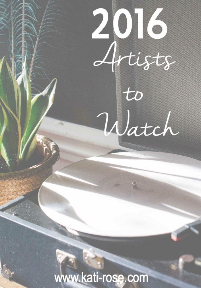 2016 Artists to Watch