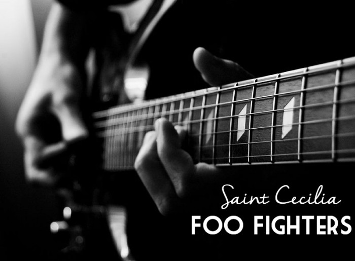 Saint Cecilia Foo Fighters
