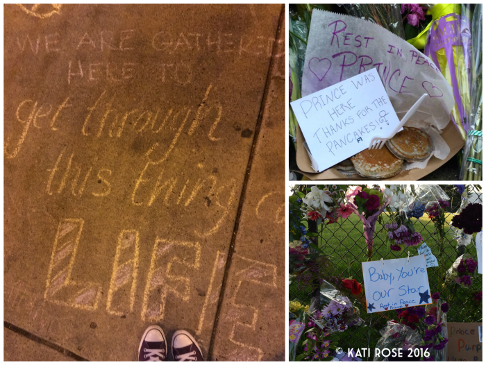 Mourning Minnesota's Prince Signs Spotted