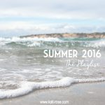 End of Summer 2016 Playlist