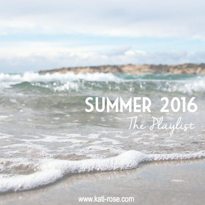 Summer 2016 Playlist
