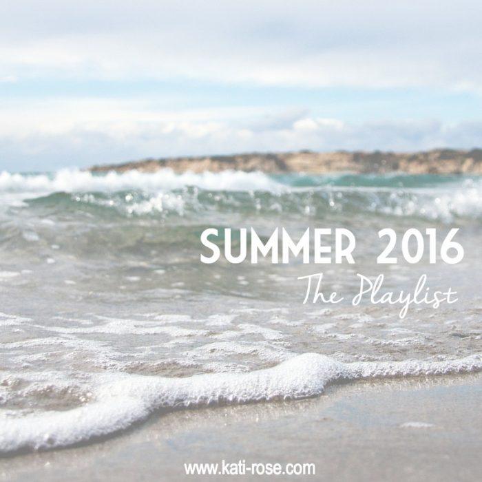 Summer 2016 Playlist