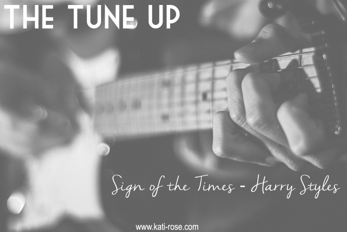 The Tune Up Sign of the Times by Harry Styles