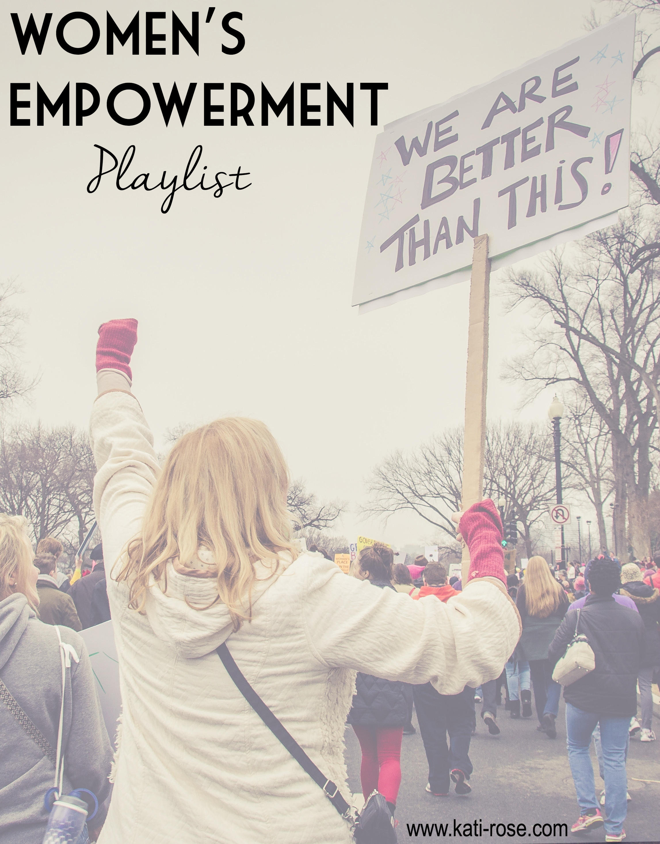 women's empowerment playlist